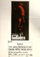 The Godfather - Swedish Movie Poster (xs thumbnail)
