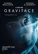 Gravity - Czech DVD movie cover (xs thumbnail)