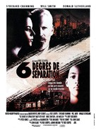 Six Degrees of Separation - French Movie Poster (xs thumbnail)