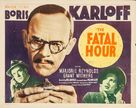 The Fatal Hour - Movie Poster (xs thumbnail)