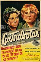 Sciuscià - Argentinian Movie Poster (xs thumbnail)