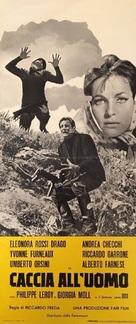 Caccia all'uomo - Italian Movie Poster (xs thumbnail)