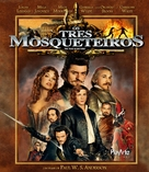 The Three Musketeers - Brazilian Blu-Ray cover (xs thumbnail)