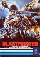 Blastfighter - Spanish Movie Cover (xs thumbnail)