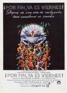 Thank God It's Friday - Spanish Movie Poster (xs thumbnail)