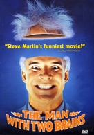 The Man with Two Brains - DVD cover (xs thumbnail)