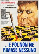 Unbekannter rechnet ab, Ein - Italian Movie Poster (xs thumbnail)