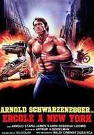 Hercules In New York - Italian Movie Poster (xs thumbnail)