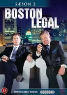"""""""Boston Legal"""" - Danish DVD movie cover (xs thumbnail)"""