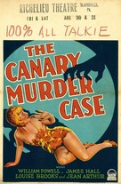 The Canary Murder Case - Movie Poster (xs thumbnail)
