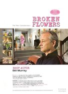 Broken Flowers - For your consideration movie poster (xs thumbnail)