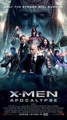 X-Men: Apocalypse - Singaporean Movie Poster (xs thumbnail)