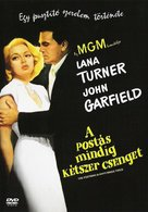 The Postman Always Rings Twice - Hungarian DVD movie cover (xs thumbnail)