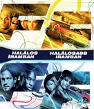 The Fast and the Furious - Hungarian Blu-Ray cover (xs thumbnail)