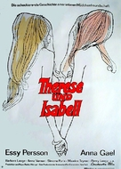Therese and Isabelle - German Movie Poster (xs thumbnail)