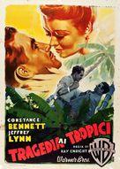 Law of the Tropics - Italian Movie Poster (xs thumbnail)