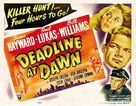 Deadline at Dawn - Movie Poster (xs thumbnail)
