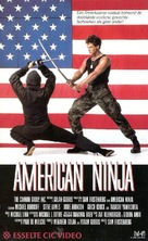 American Ninja - Dutch Movie Cover (xs thumbnail)