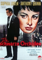 The Black Orchid - German Movie Poster (xs thumbnail)