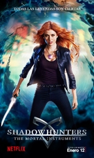 """""""Shadowhunters"""" - Argentinian Movie Poster (xs thumbnail)"""