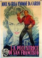 The San Francisco Story - Italian Movie Poster (xs thumbnail)