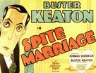 Spite Marriage - Movie Poster (xs thumbnail)
