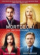 Mortdecai - Swiss DVD cover (xs thumbnail)