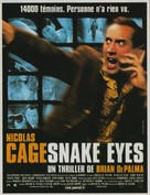 Snake Eyes - French Movie Poster (xs thumbnail)