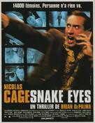 Snake Eyes - French Movie Poster (xs thumbnail)
