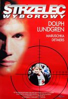 The Shooter - Polish DVD cover (xs thumbnail)