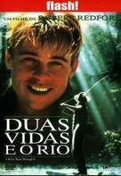 A River Runs Through It - Portuguese DVD cover (xs thumbnail)