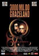 3000 Miles To Graceland - Polish Movie Poster (xs thumbnail)