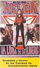Helga, la louve de Stilberg - Spanish VHS cover (xs thumbnail)