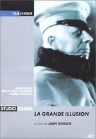 La grande illusion - French DVD cover (xs thumbnail)