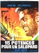 Quindici forche per un assassino - French Movie Poster (xs thumbnail)