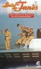 Le gendarme et les extra-terrestres - German VHS cover (xs thumbnail)