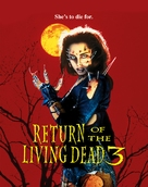 Return of the Living Dead III - Blu-Ray cover (xs thumbnail)
