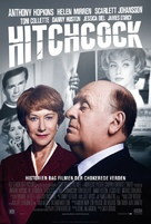 Hitchcock - Danish Movie Poster (xs thumbnail)