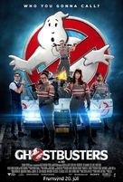 Ghostbusters - Icelandic Movie Poster (xs thumbnail)