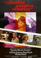 Sunday Bloody Sunday - Swedish Movie Poster (xs thumbnail)