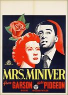Mrs. Miniver - Dutch Movie Poster (xs thumbnail)