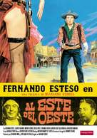 Al este del oeste - Spanish DVD movie cover (xs thumbnail)