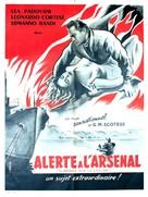 Fiamme sulla laguna - French Movie Poster (xs thumbnail)