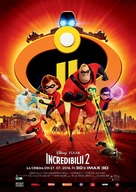 The Incredibles 2 - Romanian Movie Poster (xs thumbnail)
