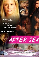 After Sex - Italian Movie Poster (xs thumbnail)