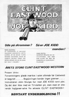Joe Kidd - Swedish Movie Poster (xs thumbnail)