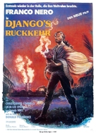 Django 2: il grande ritorno - German Movie Poster (xs thumbnail)