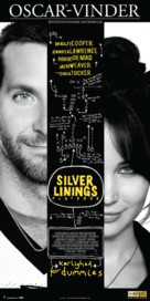 Silver Linings Playbook - Danish Movie Poster (xs thumbnail)