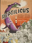 Reptilicus - Danish Movie Poster (xs thumbnail)