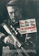 The Accountant - German Movie Poster (xs thumbnail)
